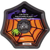 Spider & Web Cake Pan Set 2pc