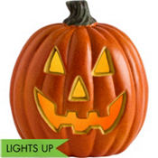 Light-Up Jack-o'-Lantern