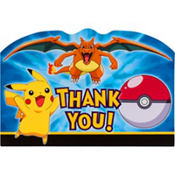 Pokemon Thank You Notes 8ct