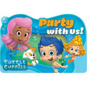 Bubble Guppies Invitations 8ct