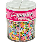 Flower Medley 6 Mix Sprinkle Assortment 2.2oz