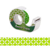 Kiwi Green Lattice Deco Tape