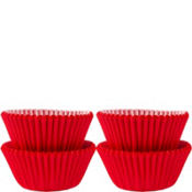 Mini Red Baking Cups 100ct