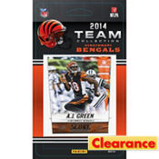 2014 Cincinnati Bengals Team Cards 13ct
