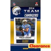 2014 San Diego Chargers Team Cards 13ct