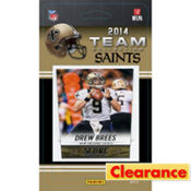 2014 New Orleans Saints Team Cards 13ct