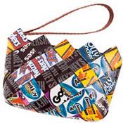 Hershey Candy Wrapper Wristlet