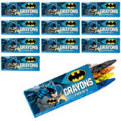 Batman Crayon Boxes 12ct