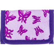 Purple Butterfly Glitter Wallet