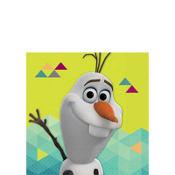 Olaf Beverage Napkins 16ct - Frozen