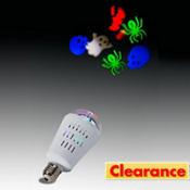 Halloween Projection LED Light Bulb