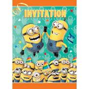 Despicable Me Invitations 8ct