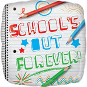 School's Out Forever Graduation Balloon