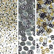 60th Birthday Confetti - Sparkling Celebration