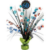 Celebrate 60th Birthday Spray Centerpiece