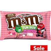 Milk Chocolate M&M's Fun Size Exchange Pouches 24ct