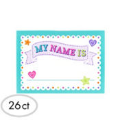 Baby Shower Name Tags 26ct