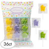 Baby Shower Carriage Lollipops 36ct