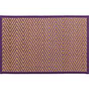 Purple Chevron Bamboo Placemat