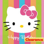 Hello Kitty Birthday Lunch Napkins 16ct