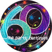 The Party Continues 60th Birthday Party Supplies