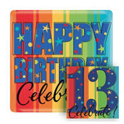 A Year To Celebrate 13th Birthday Party Supplies