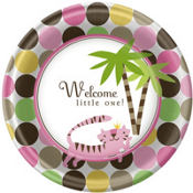 Queen Of The Jungle Baby Shower Party Supplies