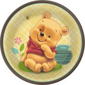 Pooh Baby Days Baby Shower Party Supplies