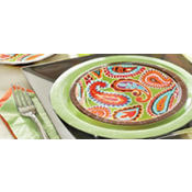 Bright Paisley Party Supplies