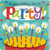 Perfect Time To Party Birthday Party Supplies