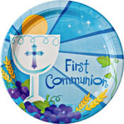 Blue First Communion Party Supplies