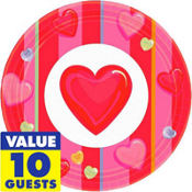 Candy Hearts Valentines Day Party Supplies