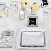 Silver Wedding Party Supplies