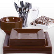 Brown Premium Tableware
