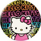 Neon Hello Kitty Party Supplies