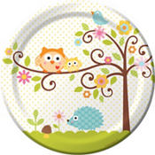 Owl Baby Shower Party Supplies