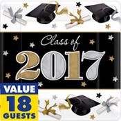 Festive Grad 2016 Graduation Party Supplies