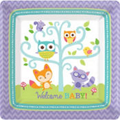 Woodland Baby Shower Party Supplies