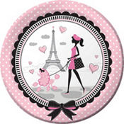 Pink Paris Party Supplies