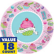 Pastel Birthday Sweets 1st Birthday Party Supplies