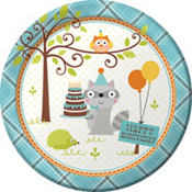 Woodland Boy 1st Birthday Party Supplies