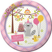 Girl Birthday Party Supplies- Happi Woodland