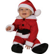 Baby Fleece Santa Suit