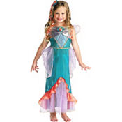 Girls Ariel Costume Deluxe