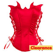 Red Devil Bustier