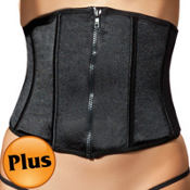 Tease Me Black Waist Cincher Plus Size