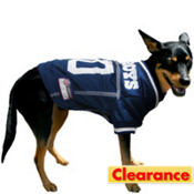 Dallas Cowboys NFL Dog Jersey