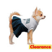 Philadelphia Eagles NFL Dog Cheerleader Costume