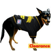 Pittsburgh Steelers NFL Dog T-Shirt