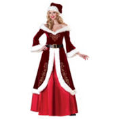 Adult Mrs. St. Nick Costume